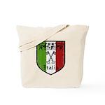 Italian Crest Tote Bag