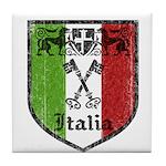 Italian Crest Tile Coaster