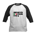 Imported from Italy Kids Baseball Jersey