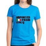Imported from Italy Women's Dark T-Shirt