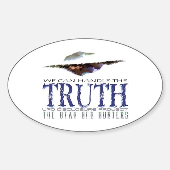 UFO Disclosure Project TRUTH Oval Decal