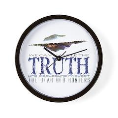 UFO Disclosure Project TRUTH Wall Clock