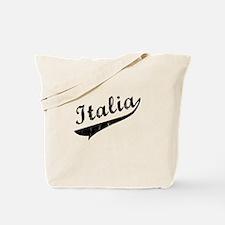 Italia Vintage Baseball Tote Bag