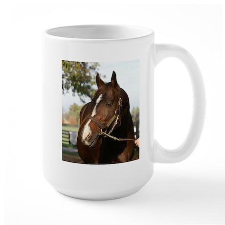 A.P. INDY Large Mug