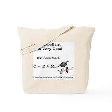 C=DVM Tote Bag