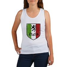 Italian Flag Women's Tank Top