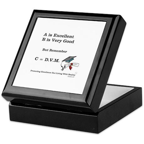 C=DVM Keepsake Box