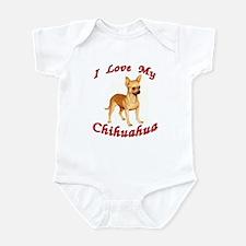 I Love My Chihuahua Onesie