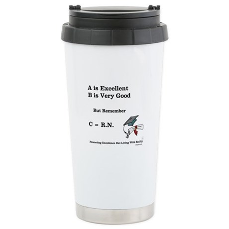 C=RN Stainless Steel Travel Mug