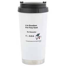 C=DDS That's all that counts! Travel Mug
