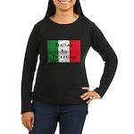 Italian by Injection Women's Long Sleeve Dark T-Sh