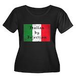 Italian by Injection Women's Plus Size Scoop Neck
