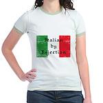 Italian by Injection Jr. Ringer T-Shirt