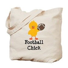 Football Chick Tote Bag