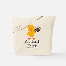 Football Chick Tote Bag