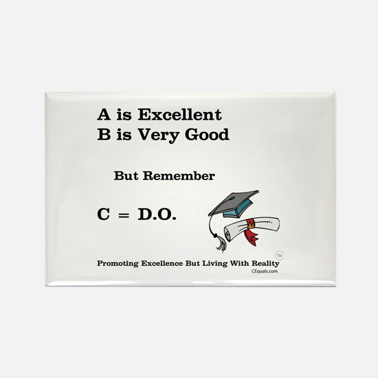C=DO That's all that counts! Rectangle Magnet
