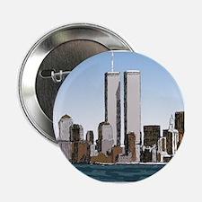 "NY Skyline 2.25"" Button"