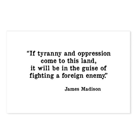 Tyranny & Oppression Postcards (Package of 8)