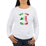 New York Italian Women's Long Sleeve T-Shirt