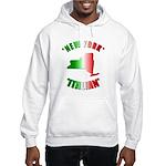 New York Italian Hooded Sweatshirt