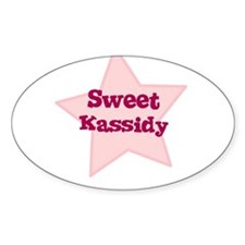 Sweet Kassidy Oval Decal