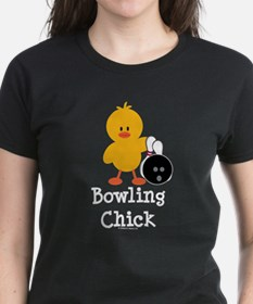 Bowling Chick Tee