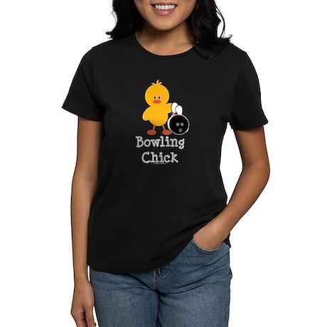 Bowling Chick Women's Dark T-Shirt