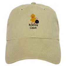 Bowling Chick Baseball Cap