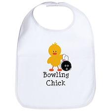 Bowling Chick Bib