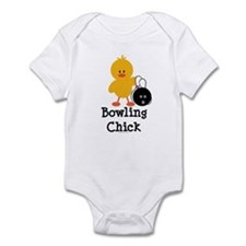 Bowling Chick Onesie