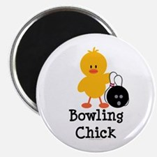 """Bowling Chick 2.25"""" Magnet (10 pack)"""