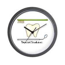 I am a dental student Wall Clock