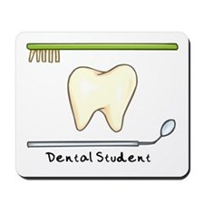 I am a dental student Mousepad