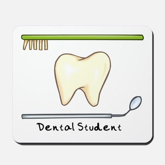 I am a dental student Mousepad