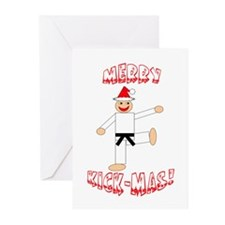 Martial Arts Christmas Cards (Pk of 10)