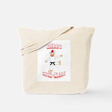 Martial Arts Christmas Tote Bag