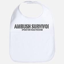 Ambush Survivor - Iraq Bib