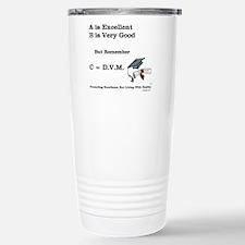 C=DVM Stainless Steel Travel Mug