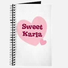 Sweet Karla Journal