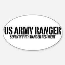 US Army Ranger - 75th Oval Decal