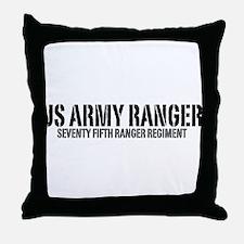 US Army Ranger - 75th Throw Pillow
