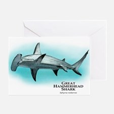 Great Hammerhead Shark Greeting Card