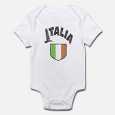 Italia Flag Infant Bodysuit