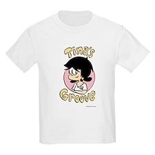 Tina Face With Logo Kids Light T-Shirt