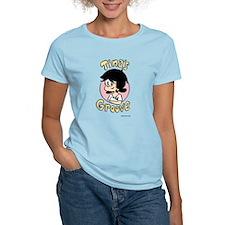 Tina Face With Logo Women's Light T-Shirt