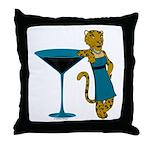 Jaguartini Throw Pillow