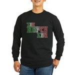 The North End Long Sleeve Dark T-Shirt