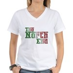 The North End Women's V-Neck T-Shirt