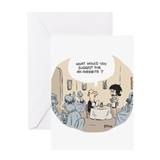 Overbite Greeting Card