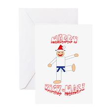 Martial Arts Christmas Card